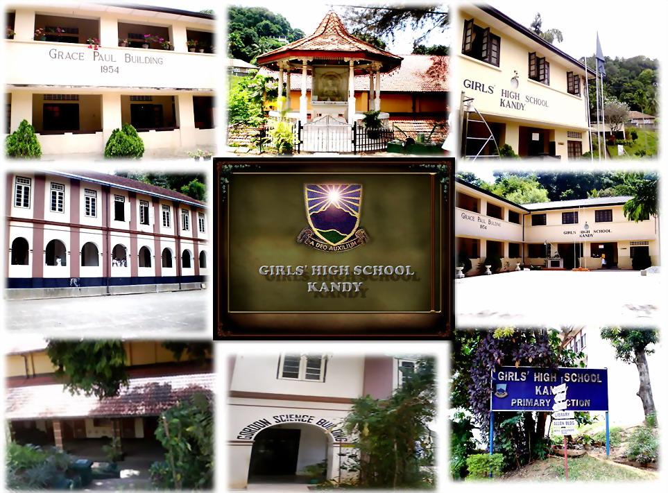 Girls' High School  Kandy, Sri Lanka
