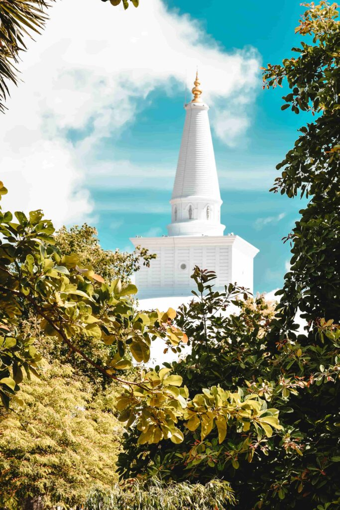 The Sacred City of Anuradhapura sri lankan guides